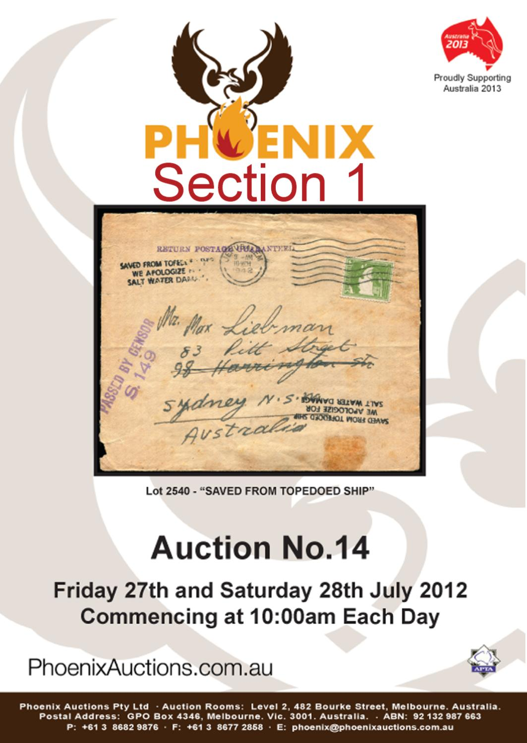 Section 1 by Phoenix Auctions Pty Ltd - issuu