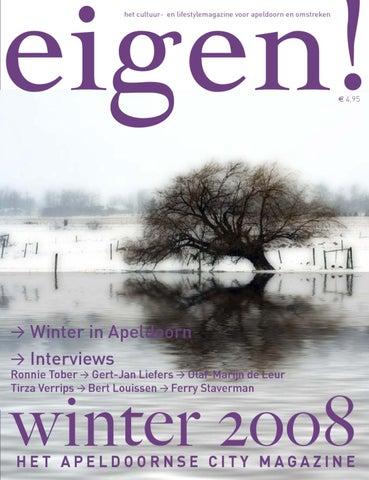 2926d5376dd het cultuur- en lifestylemagazine voor apeldoorn en omstreken > eigen!  magazine