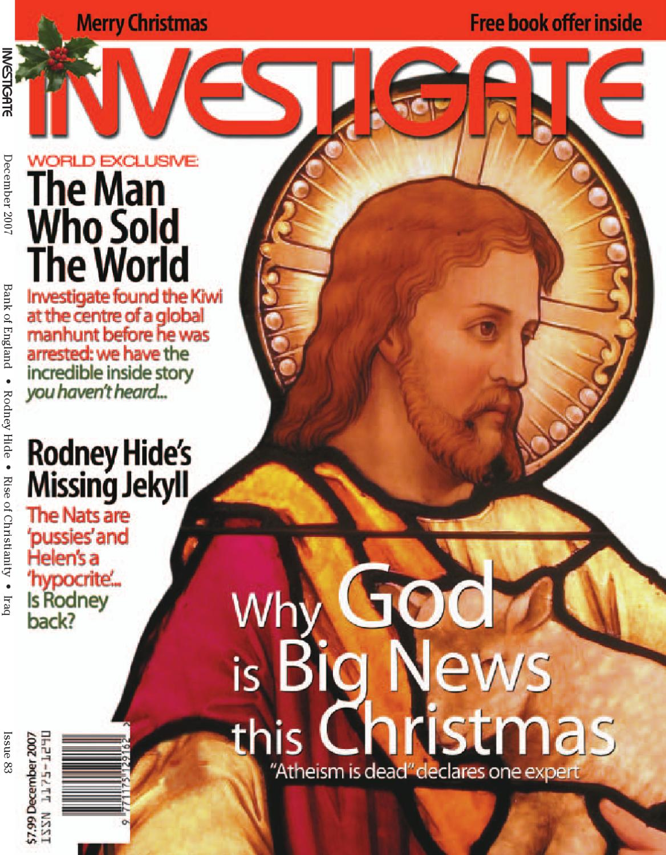 Investigate, December 2007