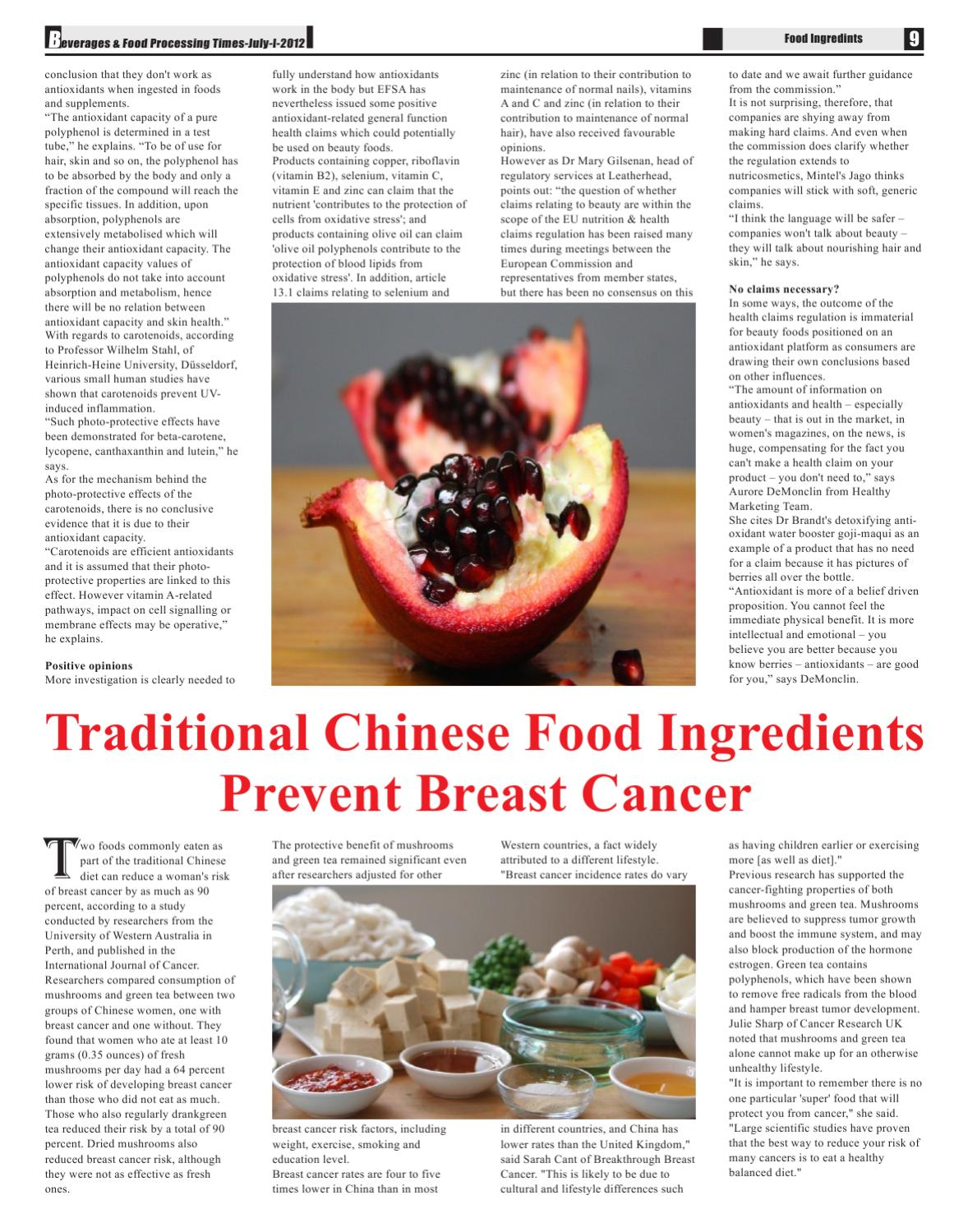 Beverages & Food Processing Times by Advance Info Media - issuu