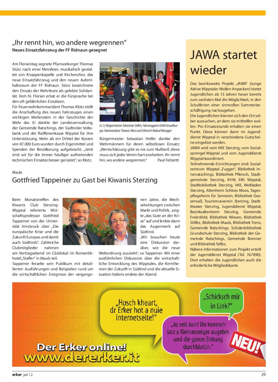 ERKER Juli 2012 by Der Erker - issuu