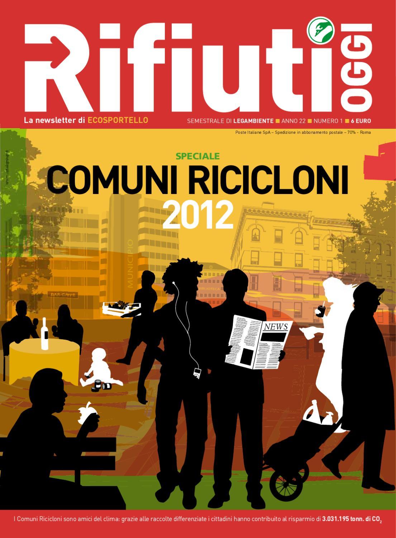 seleziona per genuino varietà di disegni e colori 60% economico Comuni Ricicloni 2012 by Legambiente Onlus - issuu