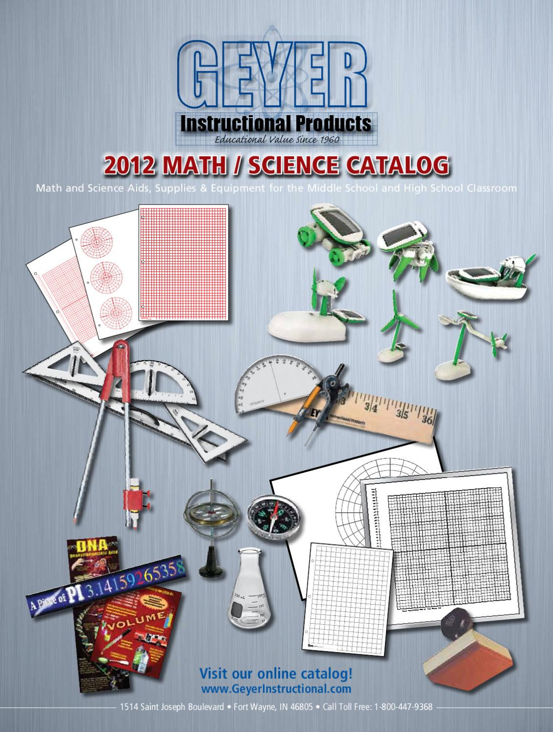 Geyer Instructional 2012 Catalog by Mark Hagar - issuu