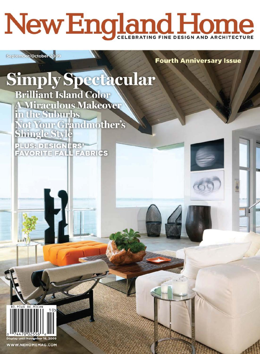 Groovy New England Home 2009 09 10 By Vladimir Gromadin Issuu Pdpeps Interior Chair Design Pdpepsorg