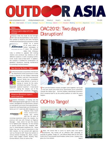 Outdoor Asia July by VJ Media Works - issuu
