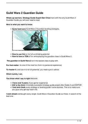 Guild Wars 2 Magazine Spread by Stick Boy Studios - issuu