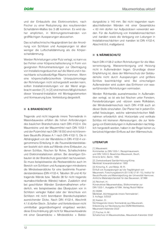 """dgfm-broschüre:""""schlitze und aussparungen"""" by wienerberger ag - issuu"""