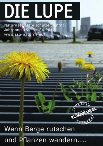 Lupe 2012 by Schulsprengel Naturns - issuu