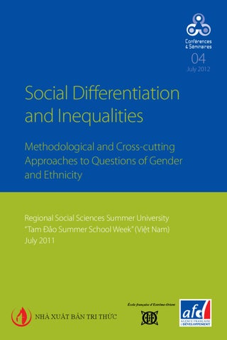 Social Differentiation and Inequalities by Agence Française de ... 5e46bddbc17d
