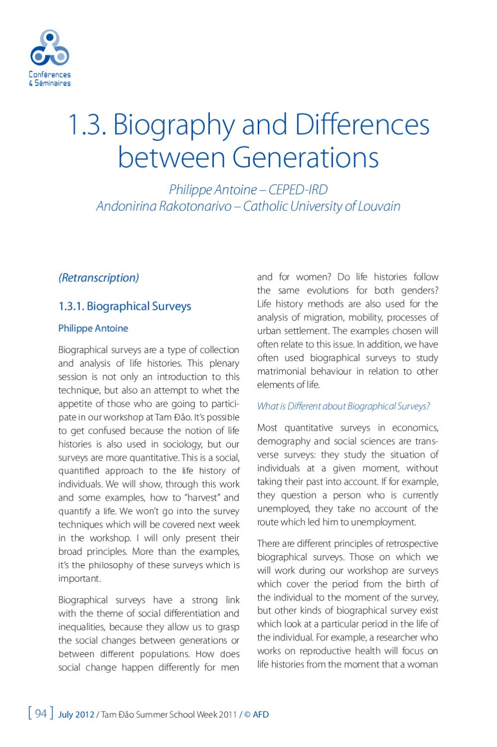 Social Differentiation and Inequalities by Agence Française
