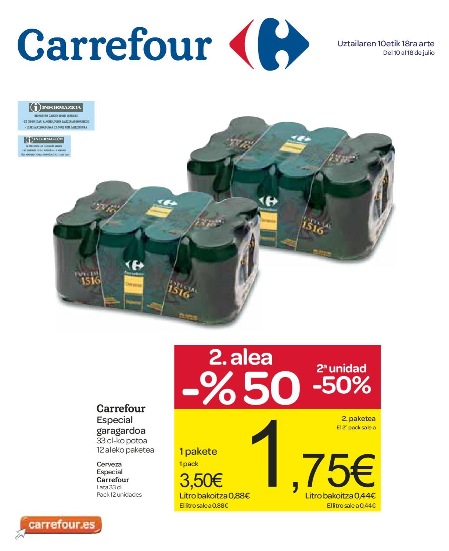 Carrefour Catalogo Folleto Hipermercado Pais Vasco 18 Julio 2012  ~ Pinzas Sujeta Sabanas Carrefour