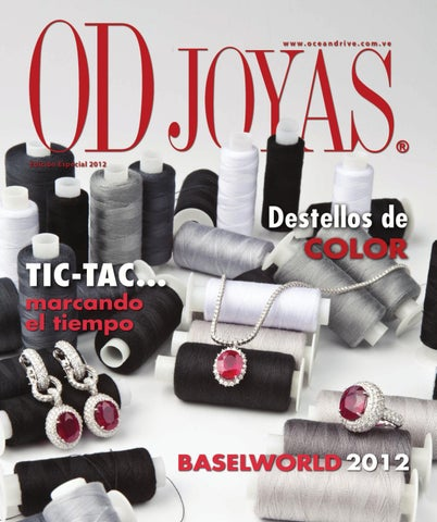 OD Joyas 2012 by Grupo Editorial Shop In 98 C.A. - issuu 32770dca59ec