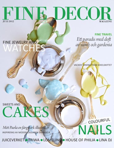 Fine Decor Magazine  3 2012 by Fine Decor Magazine - issuu a750c84b15362