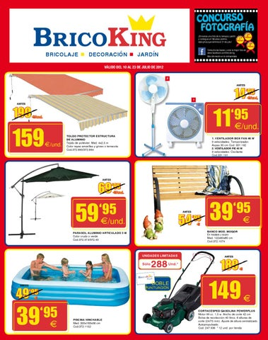 Cat logo bricoking bricolage decoraci n y jard n julio for Piscinas bricoking