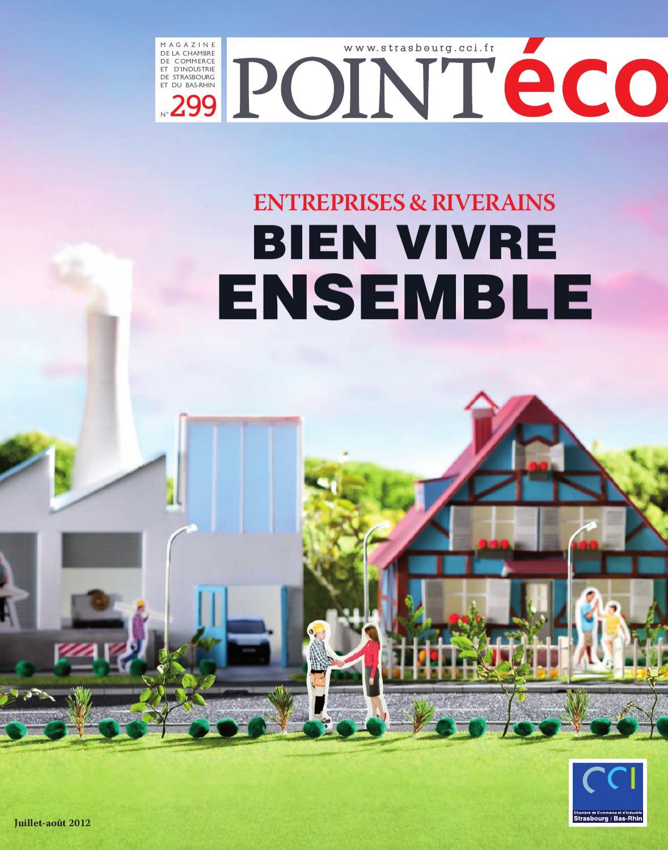 Point eco juillet ao t 2012 by cci alsace eurom tropole for Chambre de commerce et d industrie strasbourg