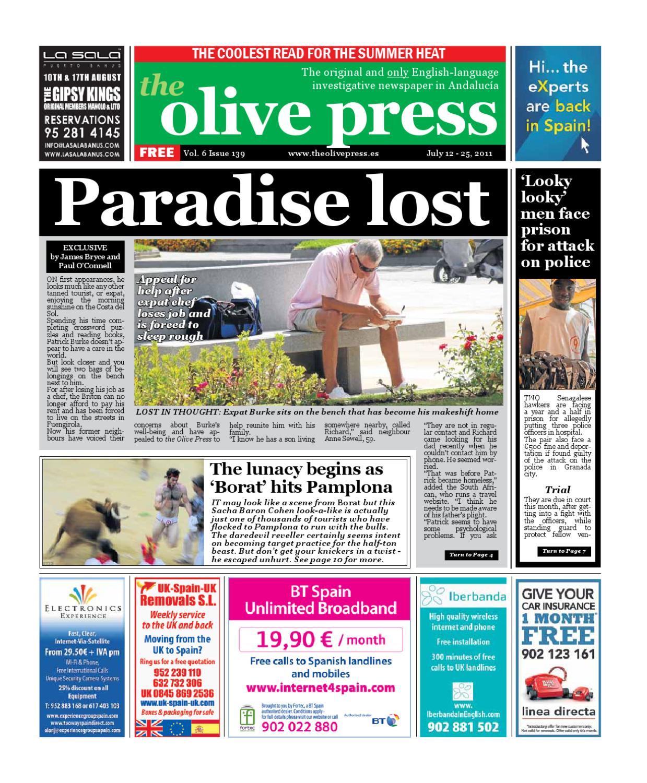 Olive Pressnewspaper Issue 139 By Olive Press Newspaper