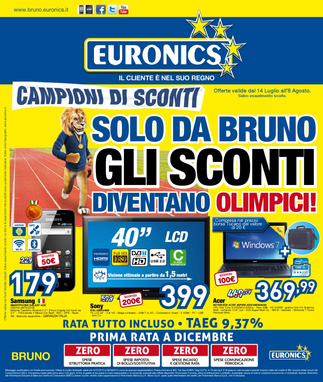 Cornice Digitale Euronics.Volantino Bruno By Euronics Italia Spa Issuu