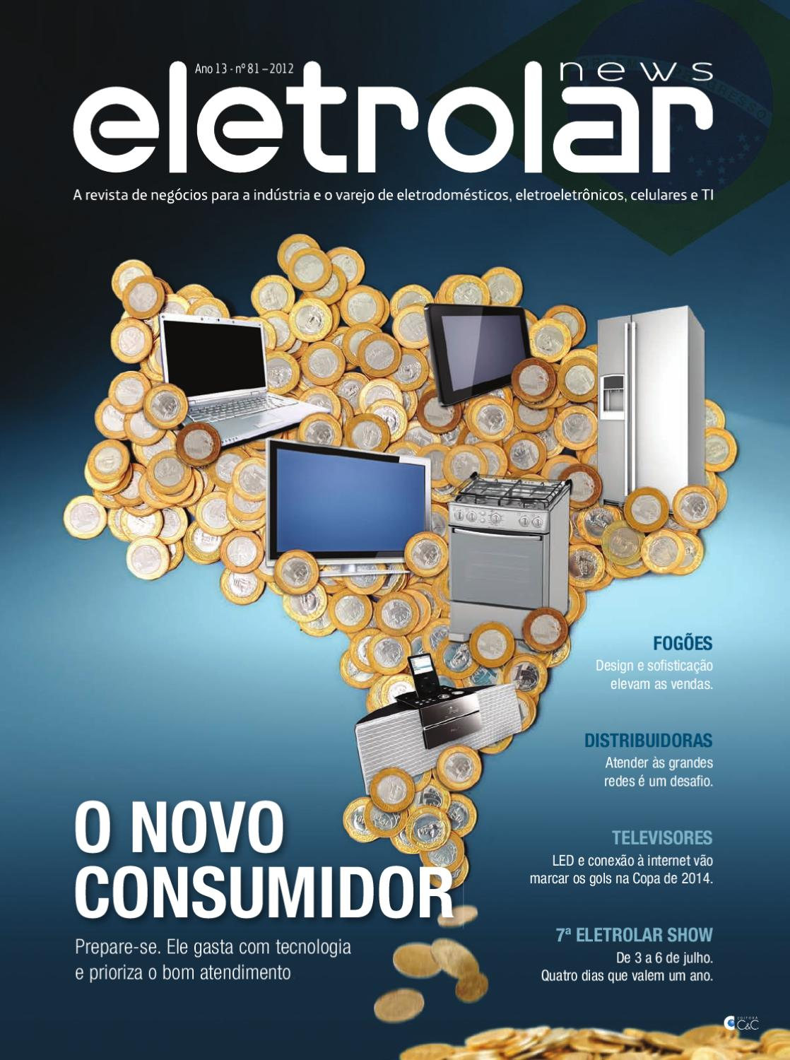 4314dc109b Revista Eletrolar News - Ed81 by Grupo Eletrolar - issuu