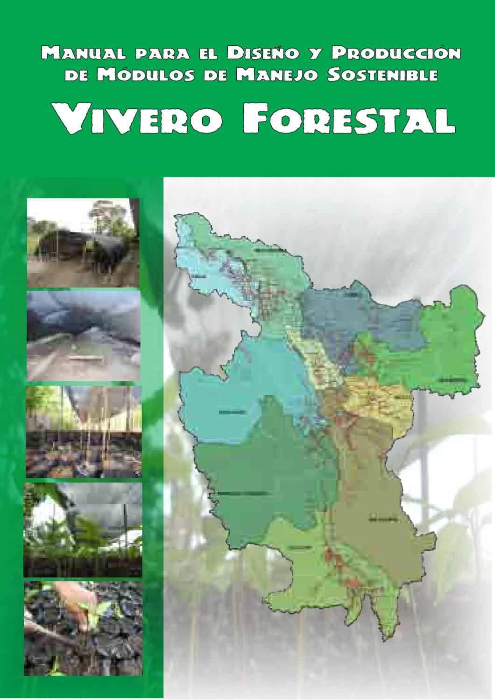 Manual para el dise o y producci n de m dulo de manejo for Proyecto productivo de vivero forestal