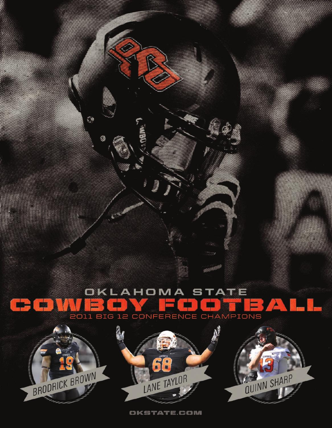 2012 Cowboy Football Media Guide by Oklahoma State Athletics - issuu 6a4d7842f