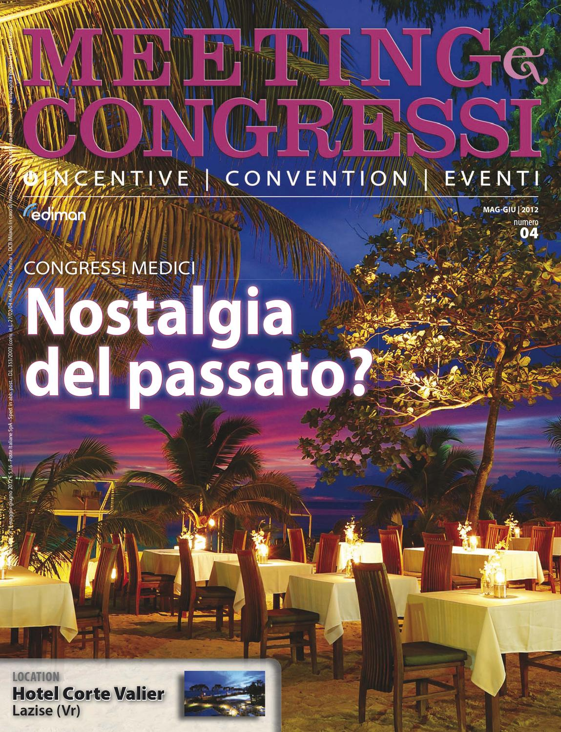 1772625a6653 Meeting e Congressi - Mag Giu Lug 2012 by Ediman - issuu