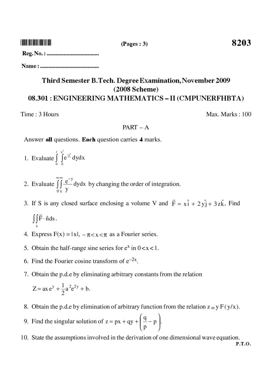 08 301 ENGINEERING MATHEMATICS – II (CMPUNERFHBTA)_9