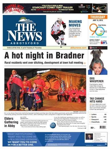 Abbotsford News, July 12, 2012