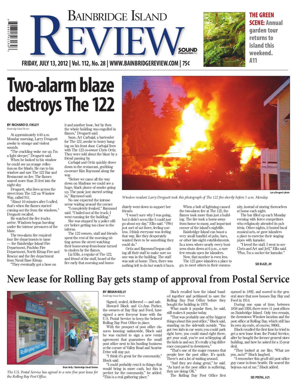 Bainbridge Island Review, July 13, 2012 by Sound Publishing - issuu