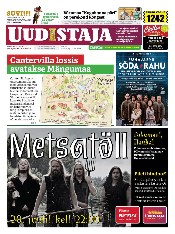 5490b021903 Uudistaja - 13. juuli 2012 by Uudistaja - issuu