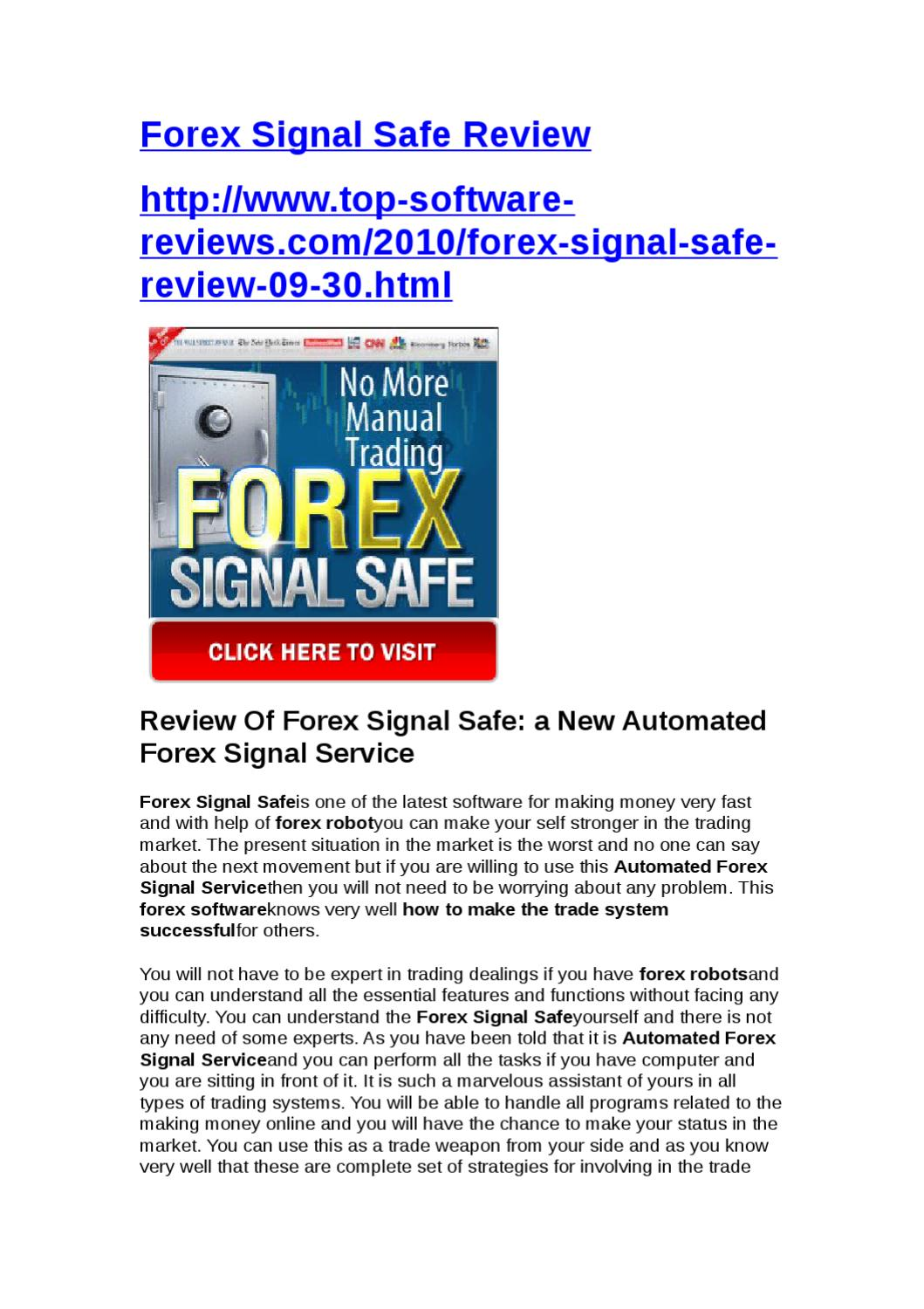 Forex signal 30 review