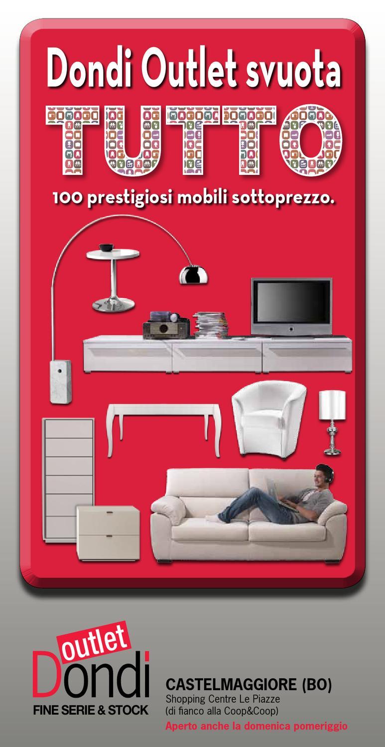 Mobili Dondi Outlet.Catalogo Svuotiamo Castelmaggiore By Pierpaolo Dondi Issuu