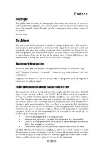 ECS G11 H61H Motherboard Manual by CENTURY 21 Casa de Vis