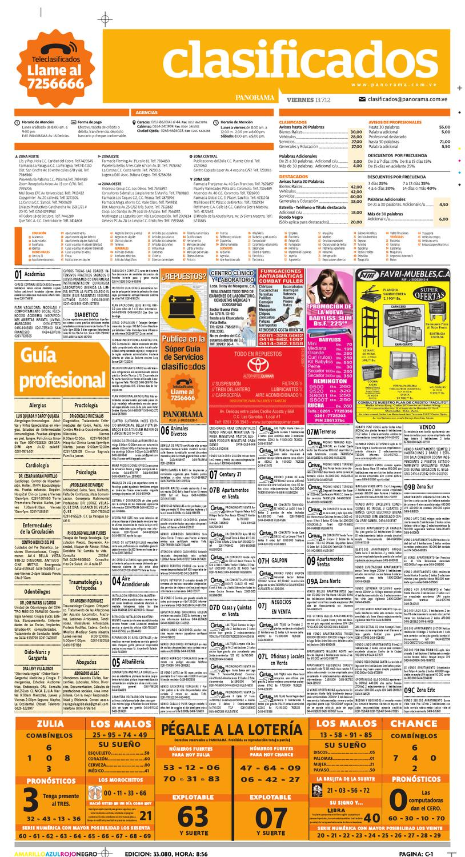 Clasificados 13 de julio de 2012 by Diario Panorama - issuu
