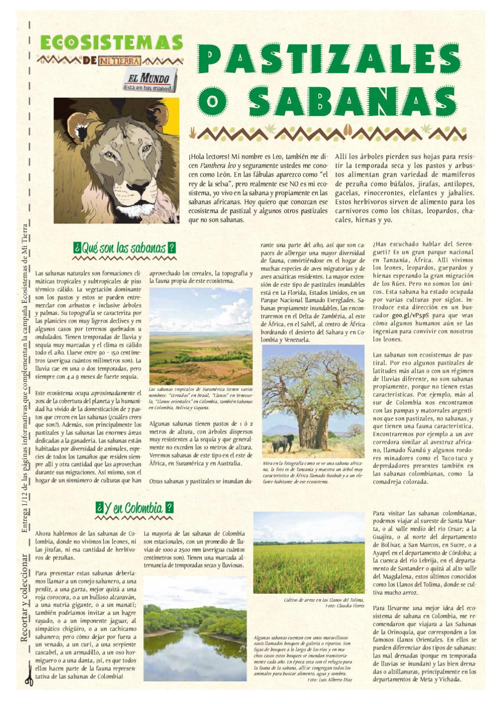 Ecosistemas De Mi Tierra 1er Sem 2012 by Periódico El Mundo - issuu