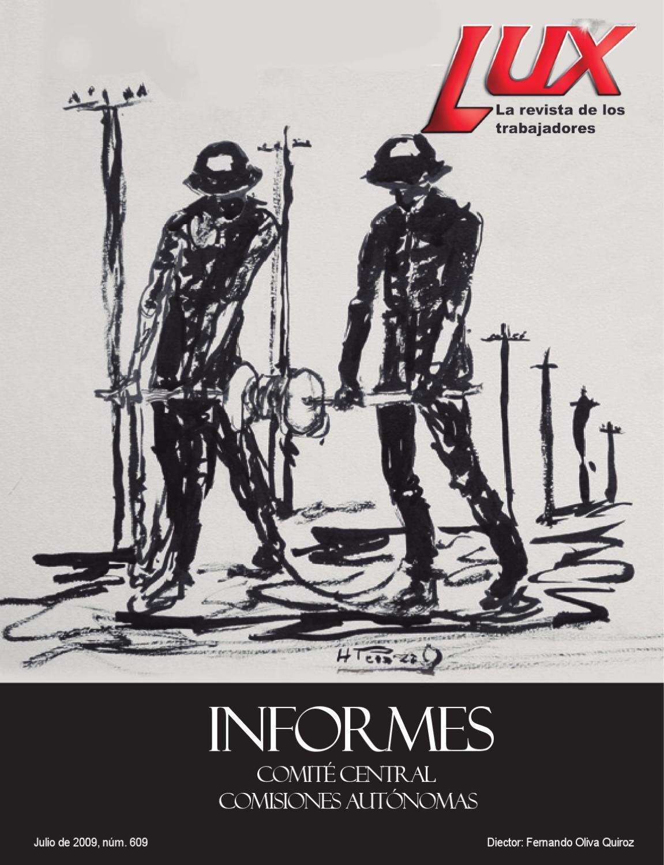 Lux Informes 2009 By Luis Castillo Issuu