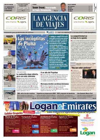 La Agencia de Viajes Argentina N° 1.215 by La Agencia de Viajes - issuu
