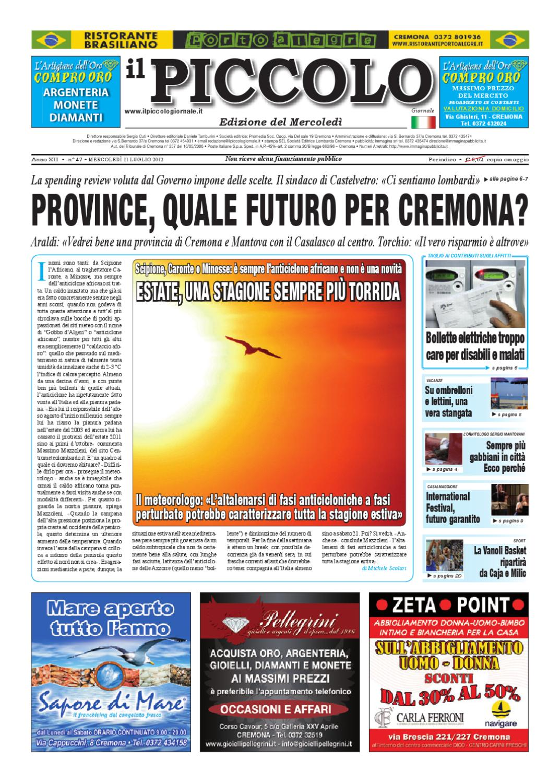 Il Piccolo Giornale di Cremona by promedia promedia - issuu e3c34cf65101
