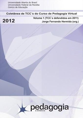 2d259da1a40 Monografias 2011 Pedagogia Virtual UFPB by Pedagogia Virtual UFPB ...