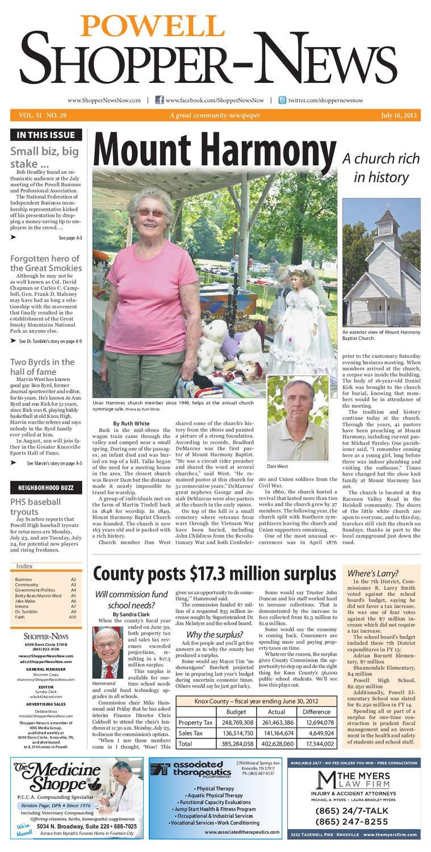 Powell Shopper-News 071612 by Shopper-News - issuu