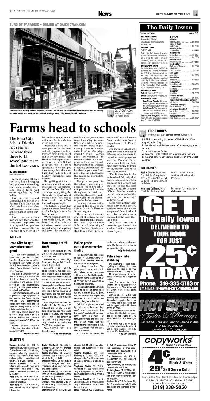 The Daily Iowan - 07/16/12 by The Daily Iowan - issuu