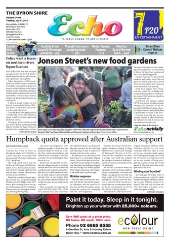 ee559e7c7ee Byron Shire Echo – Issue 27.06 – 17 07 2012 by Echo Publications - issuu