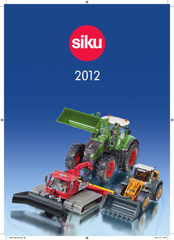 1335 SIKU Claas Ares Tracteur avec chargeur frontal Diecast Modèle Échelle 1:87 3 ans