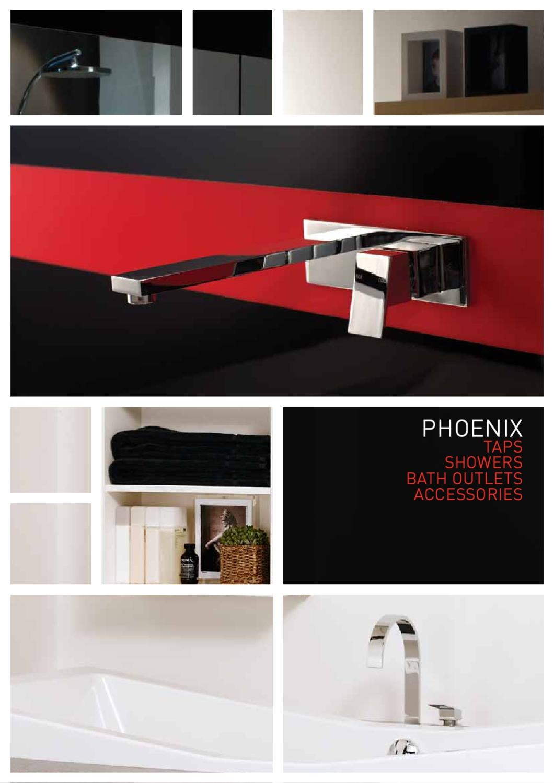 Phoenix GEN X SOAP DISH 140mm Wall Mounted Brass CHROME *Australian Brand