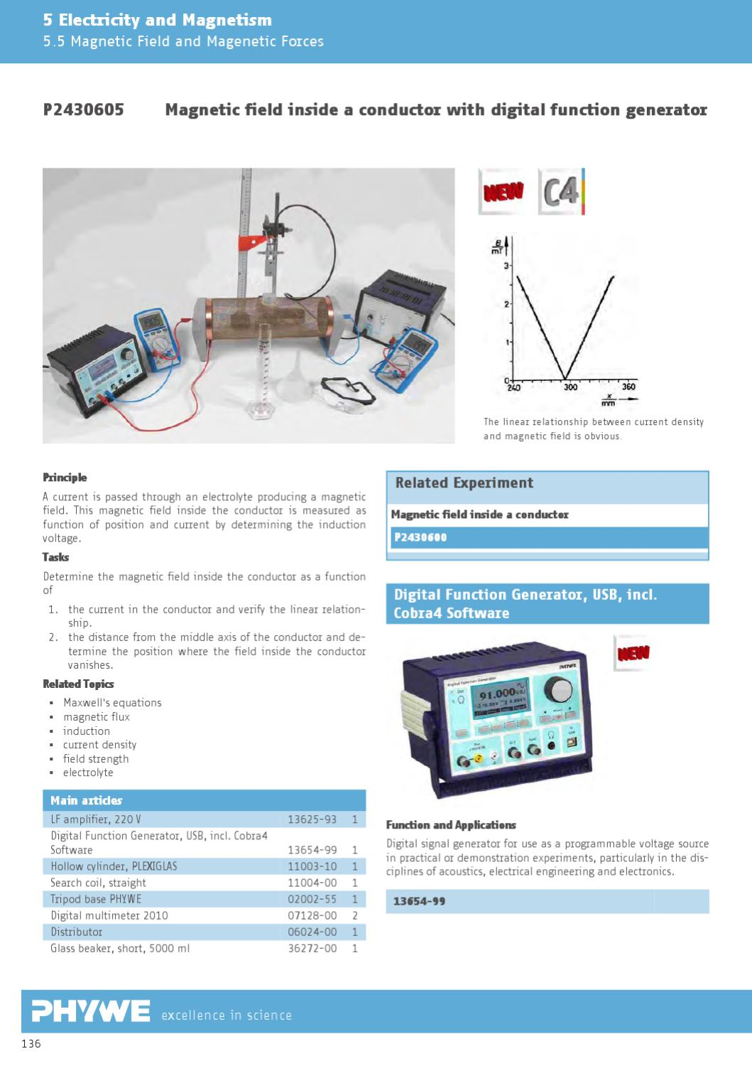 EN Physics: Laboratory Experiments by PHYWE Systeme GmbH