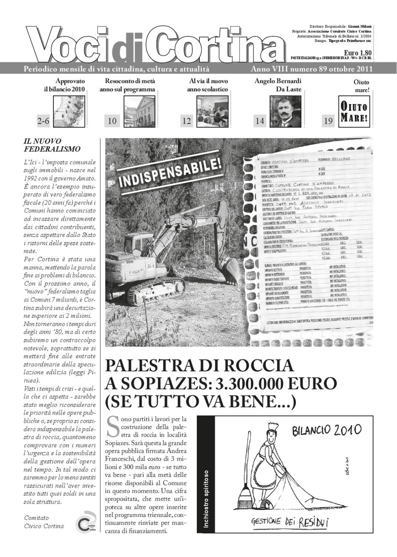 Voci Di Cortina Ottobre 2011 By Voci Di Cortina Issuu