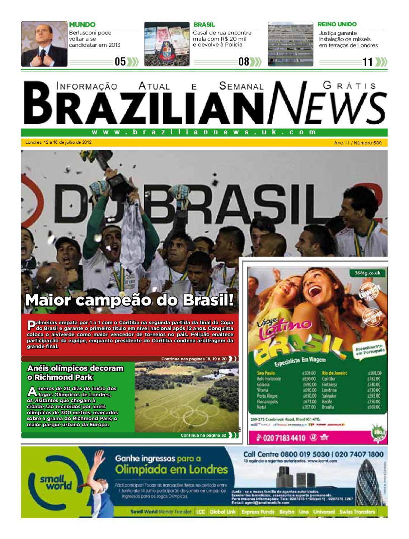 Brazilian News 530 by Express Media World - issuu 424eb368cf4f6