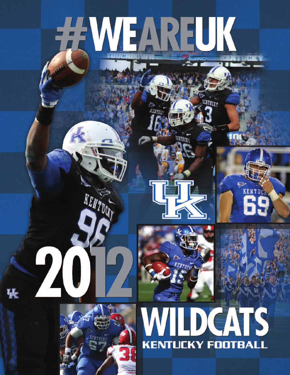 New 2012 University of Kentucky Football Media Guide by University of  for sale