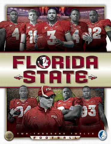2012 Florida State Football Media Guide by Florida State Seminoles ... 8769535f5