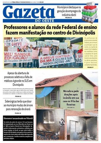 e2ba8f481 Gazeta do Oeste by Portal G37 - issuu