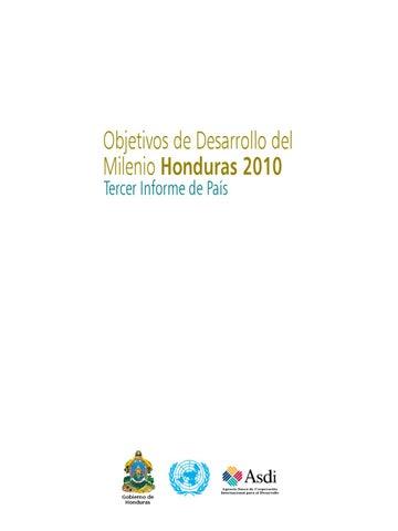 Informe_ODM_2010_Completo by Sistema de Las Naciones Unidas en ...
